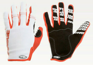 Answer WON Gloves White/Red MTB NEW