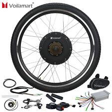 """500W e bike bicicleta eléctrica kit de conversión de motor 26"""" Rueda Trasera Pulgar Throttle"""