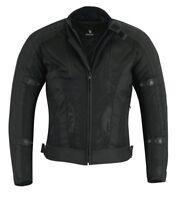 BUSA Bikers gear Motorcycle Air Mesh Jacket CE Remove Armour Waterproof Liner