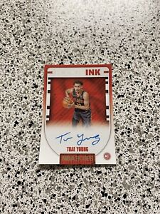 STICKER Trae Young Rookie Card Hoops Auto Autograph VINYL STICKER