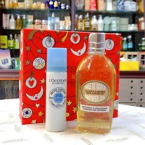 35%OFF L'Occitane Almond Shower Oil 250ml & Shea Face Mist 50ml Set