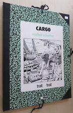 TRAIT POUR TRAIT EDITIONS GLENAT CARGO ET LE COFFRE DE BOX CALF SCHETTER NR SI