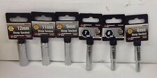 "NEW 6 Piece, 6pt. Metric Sockets Performance Tool, 1/4"" Dr. 12MM11MM9MM7MM6MM4MM"