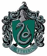 slytherin escudo de Harry Potter de Pared Oficial Silueta de cartón
