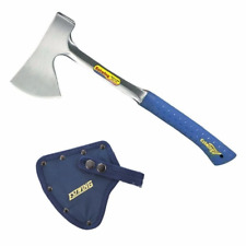 """ESTWING   16"""" Camper's Axe with Sheath - Nylon Vinyl Shock Reduction Grip®"""