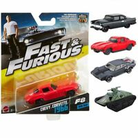 Fast & Furious 8 Diecast Metal Car Figures Collectable 1:55 Scale Models