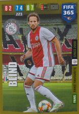 Panini Fifa 365 2020 Karten Cards 281 Daley Blind Fans Favourite