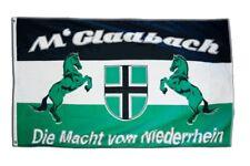 Fahne Flagge Fanflagge Mönchengladbach - Die Macht vom Niederrhein - 90 x 150 cm