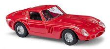 BUSCH 42600 H0 1:87 Ferrari 250 GTO, Rot NEU in OVP