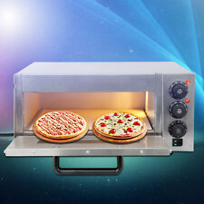 Electric Pizza Oven Single Deck Commercial Baking Oven Fire Stone Catering Food