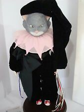 "Faith Wick  24"" CHESHIRE CAT 1985 LE 62/750 Character SILVESTRI  Alice Wonde MIB"