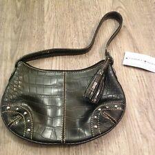 Tommy Hilfiger New Picture That Hobo Black Leather Handbag