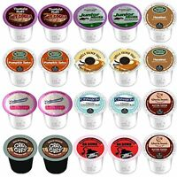 AMAZING VARIETY K CUPS FOR KEURIG 2.0  VARIETY PACKS 10 DIFFERENT FLAVORS!
