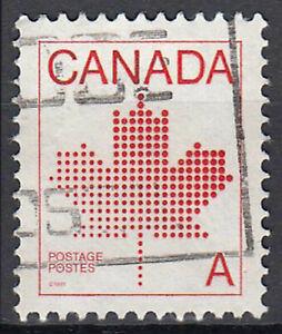 Kanada gestempelt Ahorn Blatt Symbolik Zeichentrick Animation Natur / 61
