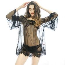 NEW Sexy-Lingerie-Sleepwear-Lace-Teddy-Women's-G-Underwear-Babydoll-Nightwear