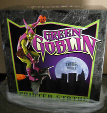 BOWEN DESIGNS AP GREEN GOBLIN SPIDER-MAN CLASSIC ACTION STATUE Sideshow Bust