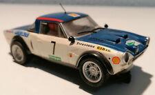 SCALEXTRIC FIAT ABARTH 124 RALLY EL CORTE INGLÉS 1979 ¡NO PAYPAL!