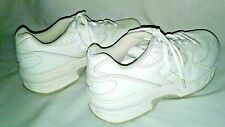 Spira White Leather Mens 7 Classic Walking Shoes Spring Loaded SWW201W2