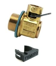 Fumoto F104 Engine Quick Oil Drain Valve + LC-10 Clip Dodge 6.7L Cummins Diesel