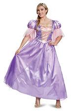 Rapunzel Womens Adult Tangled Disney Princess Deluxe Halloween Costume