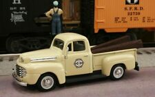 New 1/43 1948 FORD F-1 Pittsburg and Shawmut Railroad with RR Ties