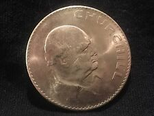 Elizabeth II Dei Gratia Regina 1965 Churchill commemorative coin