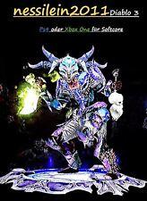 Diablo 3 RoS Ps4/Xbox One - Hexendoktor - Geist Von Arachyrs - URALT - Unmodded