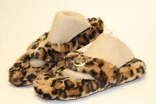 Michael Kors NEW Womens 6 Animal Print Slipper Comfort Sandals Indoor Outdoor