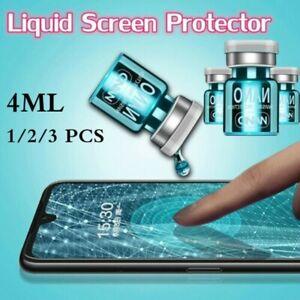 3Pcs 4ml Universal NANO Liquid Glass Screen Protector Oleophobic Coating Film