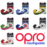 OPRO Self-Fit MMA Hockey Rugby Polo GEN3 Silver Mouthguard Sports Gum Shield