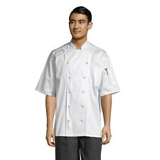 Master chef coat, 100% Egyptian cotton, Xs to 3Xl, 0493Ec Free Shipping