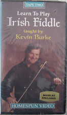 NEW - DVD-Learn To Play Irish Fiddle Tape Two