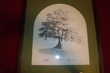 Tory Oak print artist Ray Hill signed.numbered,framed