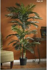 Large Fake Plant Palm Tree 6.5ft Tall Lifelike Artificial Home Natural Decor NEW