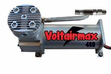 VoltAirMax 480 200psi Air Compressor For Air Bag Suspension Horn System