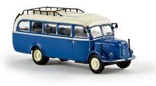 Brekina 58001 -  1/87 Steyr 380/I Bus  Capriblau/Hellelfenbein - Neu