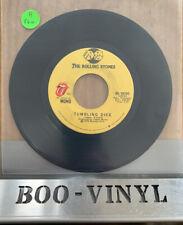 "THE ROLLING STONES - TUMBLING DICE 7"" SINGLE 1972 U.S IMPORT *STEREO/MONO* EX"