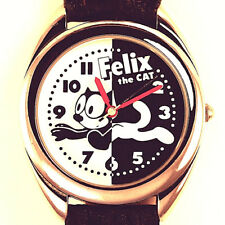 Felix The Cat Watch, Fossil Limited Edition Of 10 K Made Li-1437, Black Band $89