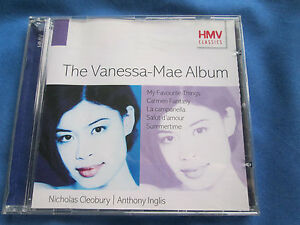 Vanessa Mae - The Vanessa Mae Album HMV 5 75605 2 16 Track CD ALBUM
