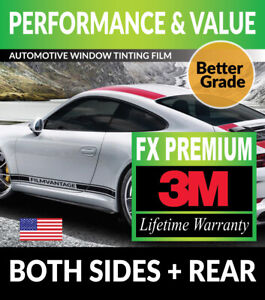 PRECUT WINDOW TINT W/ 3M FX-PREMIUM FOR SMART FORTWO FOR2 COUPE 08-15