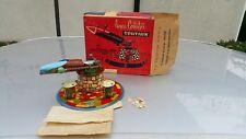 VINTAGE SPUTNIK ROCKET LAUNCHER TOY 1950s ORIGINAL BOX MADE IN ARGENTINA BY ANSA