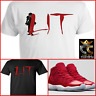 EXCLUSIVE TEE/T-SHIRT 3 to match the RED AIR JORDAN 11 WIN LIKE 96