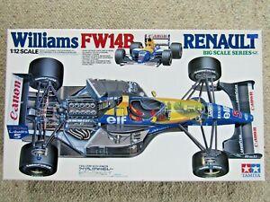 Tamiya 1:12 Big Scale Williams FW14B Renault F1 Model Kit - New - # 12029**12000