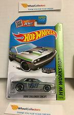 Dodge Challenger Concept #234 * ZAMAC Walmart * Hot Wheels 2015 USA Card * L11