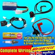 Wiring Loom Coil CDI 110cc 125cc 140cc Kick Start Dirt  Bike Atomik Thumpstar TD