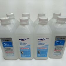 8 Bottles Rubbing Alcohol 70 % Isopropyl 16 Oz