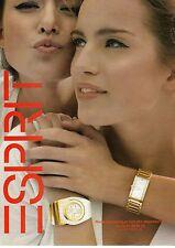 PUBLICITE ADVERTISING 2010  ESPRIT montre pour Elle