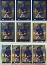 Lot of (295) Kevin Pillar 2012 Bowman Chrome Prospect RC Refractor Cards