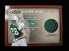 2002 Playoff Honors Curtis Martin game day jersey card   Jets   gd-31    jsy