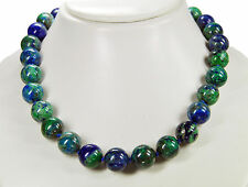 Gorgeous Necklace from azurit- Malachite In Ball Shape D-14 mm